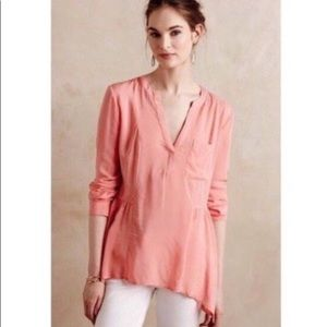Anthropologie (Maeve) flowy long-sleeve blouse